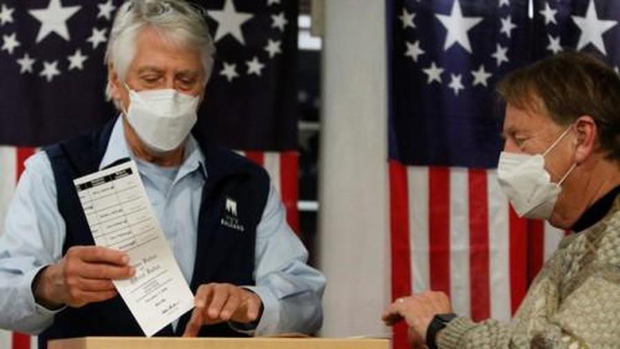 حصيلة التصويت تكسر حاجز الـ100 مليون الانتخابات الأمريكية 2020