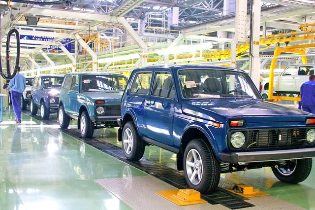 ارتفاع مبيعات السيارات الروسية بشكل غير متوقع في أكتوبر الماضي