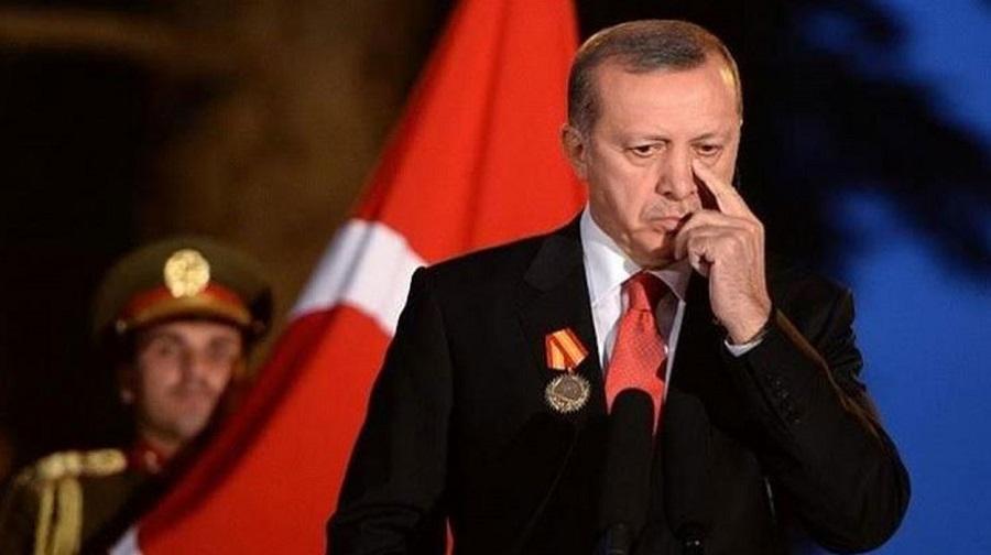 أردوغان في موقف محرج بسبب تعطل محرك مروحيات تركي أثناء تدشينه