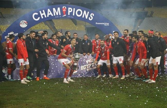 الأهلي بطل كأس مصر على حساب طلائع الجيش بركلات الترجيح