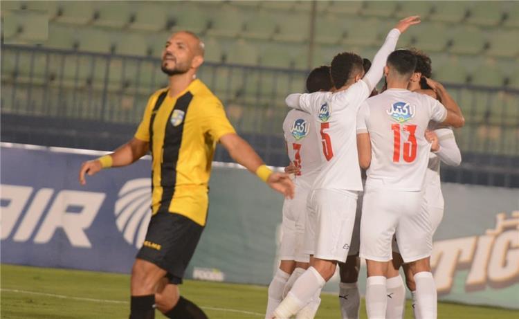 الزمالك ينتصر على المقاولون بهدفين دون رد في الدوري المصري الممتاز