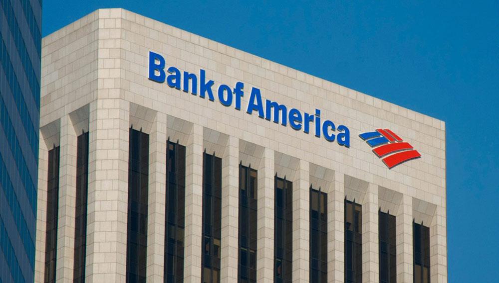 بنك أوف أمريكا يكشف عن 18.1 مليار دولار استثمارات فى الأسهم الأسبوع المنتهي