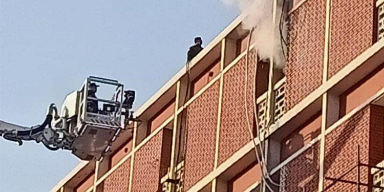 جامعة القاهرة: لا إصابات في حريق مستشفى أبوالريش الياباني للأطفال بالمنيرة