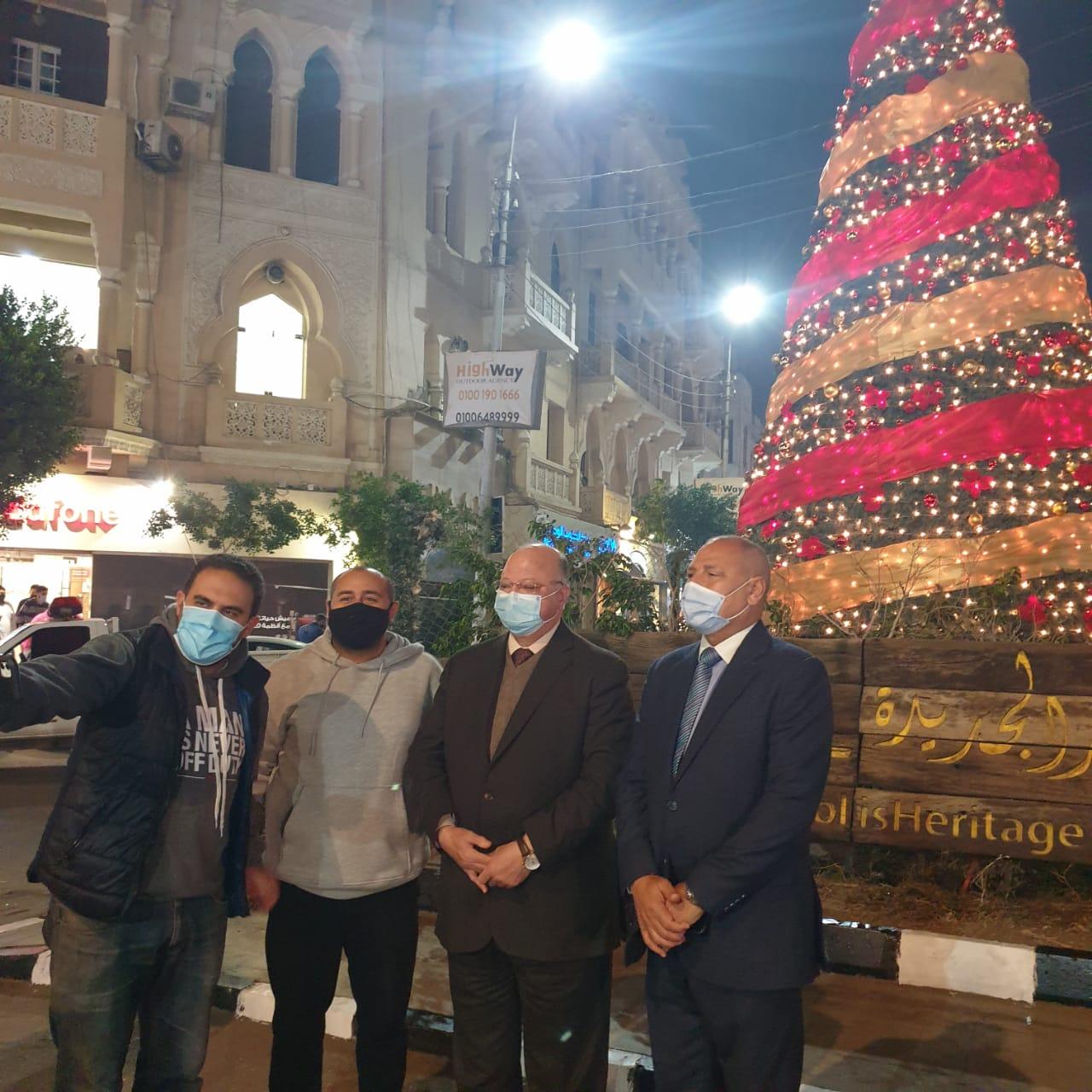 محافظ القاهرة يهنئ المواطنين بالعام الجديد