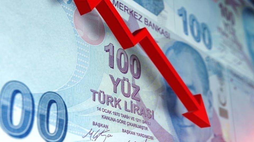 إنخفاض الليرة التركية 17% مقابل الدولار عقب إقالة محافظ البنك المركزي