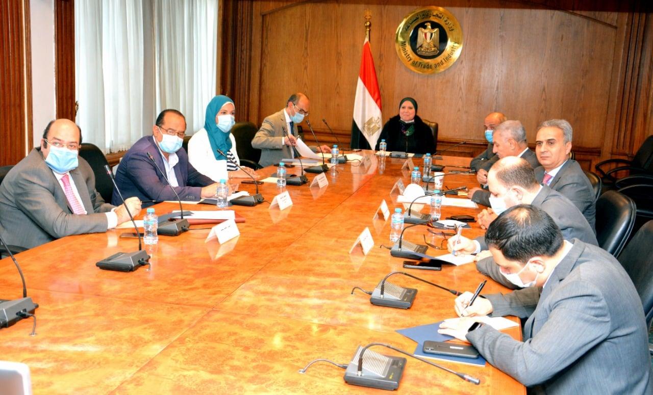 """وزيرة التجارة: روسيا ترغب فى التعاون مع مصر لاستخدام لقاح """"سبوتنيك"""" لفيروس كورونا"""