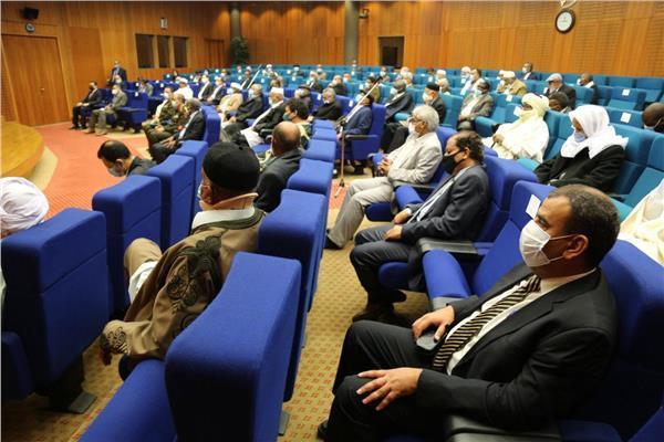 """وفد الجنوب الليبي يثمن جهود """"مصر"""" بقيادة الرئيس السيسي للحفاظ على سلامة الشعب ووحدة الأراضي الليبية"""
