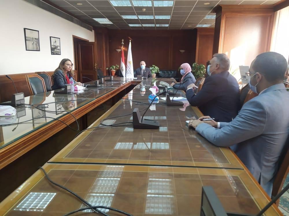 صور | وزيرة الرى : تعميم منظومة التحول الرقمي في جميع جهات الوزارة
