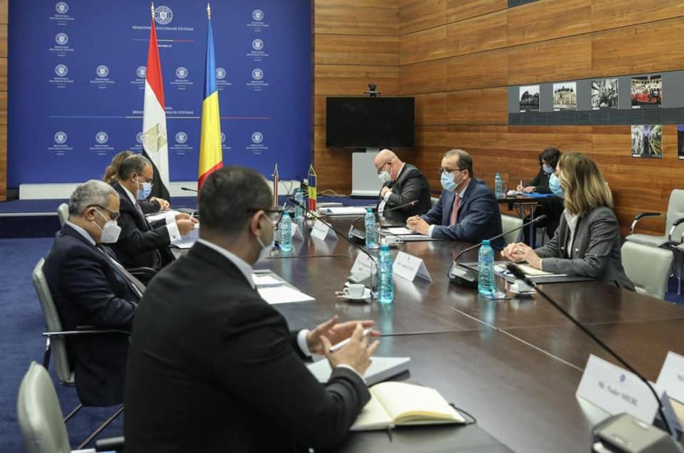 مصر ورومانيا تعقدان جولة مشاورات سياسية في العاصمة بوخارست