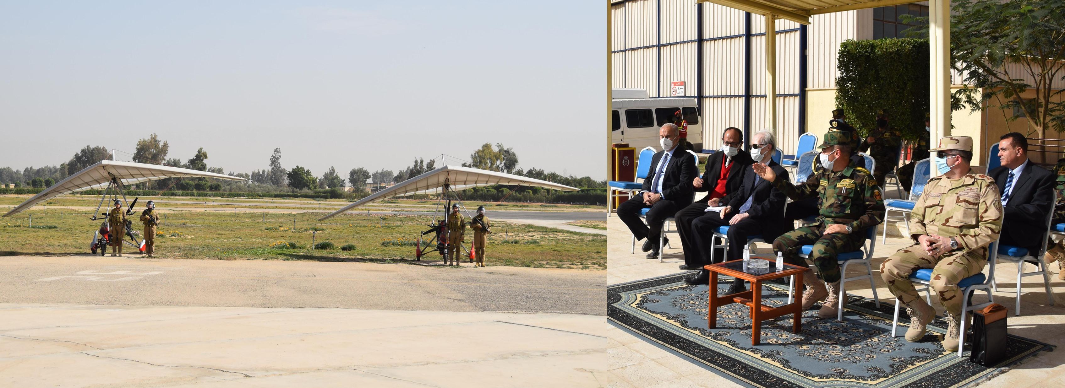 القوات المسلحة تعقد برنامجا تدريبيا لتأهيل العناصر المشاركة ببعثة الأمم المتحدة بمالى