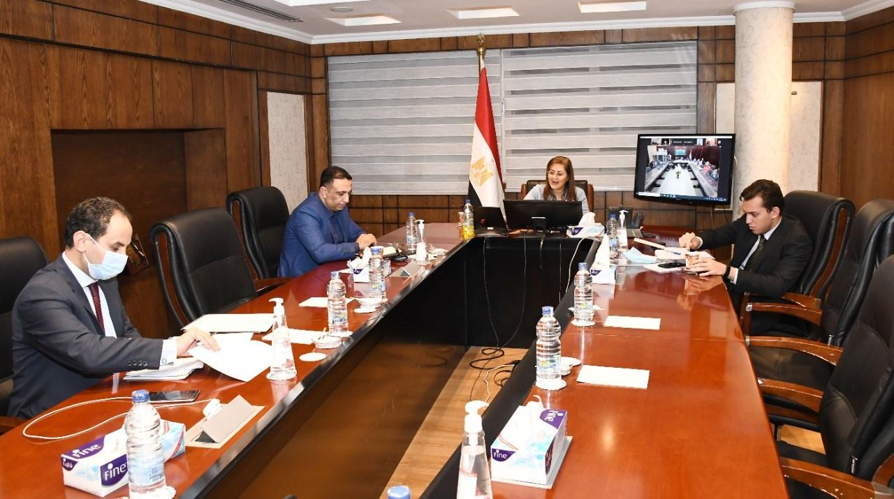 صور | وزيرة التخطيط : الإصلاحات الهيكلية تستهدف تنويع هيكل الاقتصاد المصرى