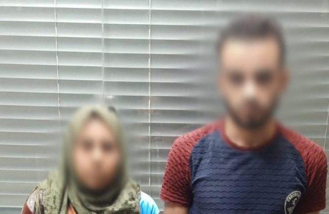 القبض على عاطل وزوجته وراء اختطاف فتاة وطلب فدية لإطلاق سراحها بالتجمع