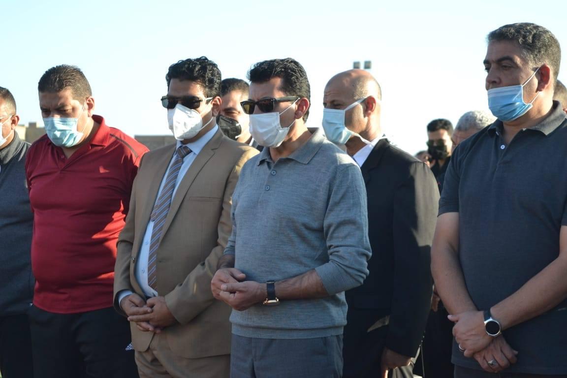 صور | وزير الرياضة يشهد استعراض لاعبى جنوب سيناء من أبناء المشروع القومى للموهبة