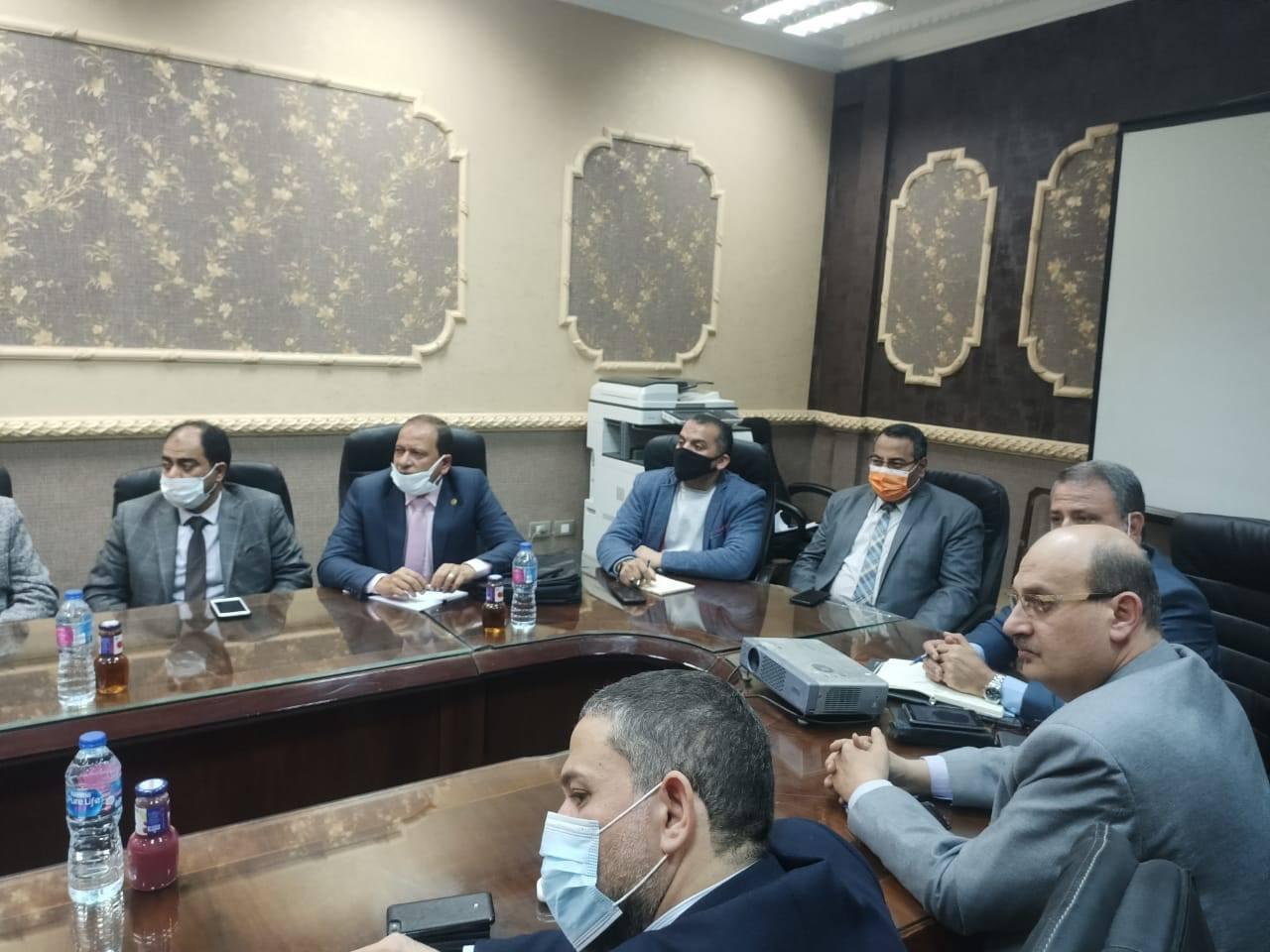 صور | وزير المالية : تعزيز تجارة الترانزيت للبضائع السودانية عبر الموانئ المصرية