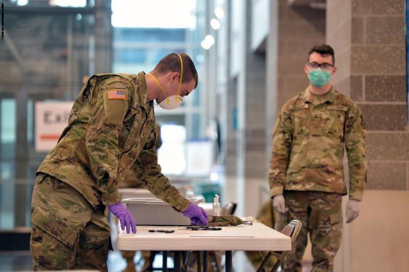 القوات الأمريكية فى كوريا الجنوبية تعتزم بدء التطعيم الأولى لكورونا