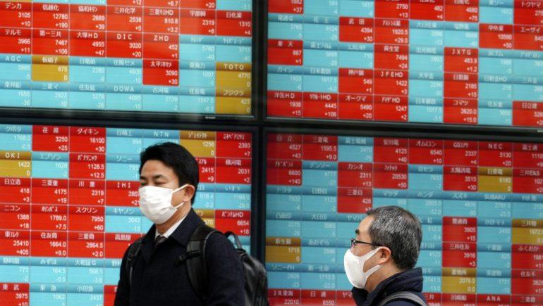 أسهم اليابان تتراجع لليوم الثالث وجميع الأنظار على نقاش التحفيز الأمريكى