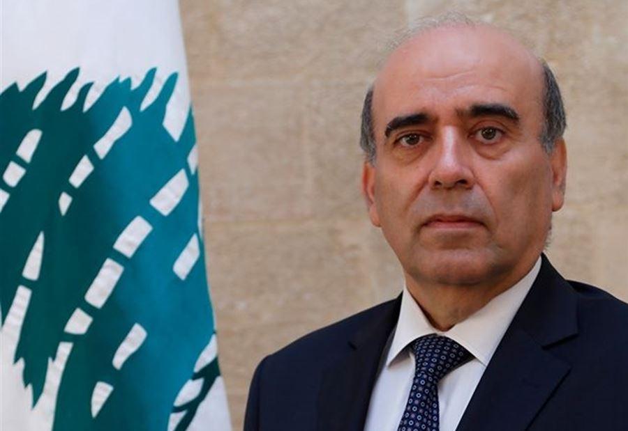وزير الخارجية اللبناني : مصر بوصلة الأمان للمنطقة والتوجه العربي المشترك
