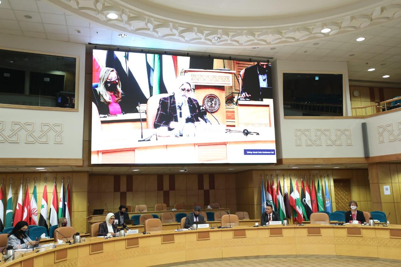 وزيرة الصحة : الاتفاق على فتح خطوط إنتاج للجانب العراقي بمصر لدعم الاستثمار