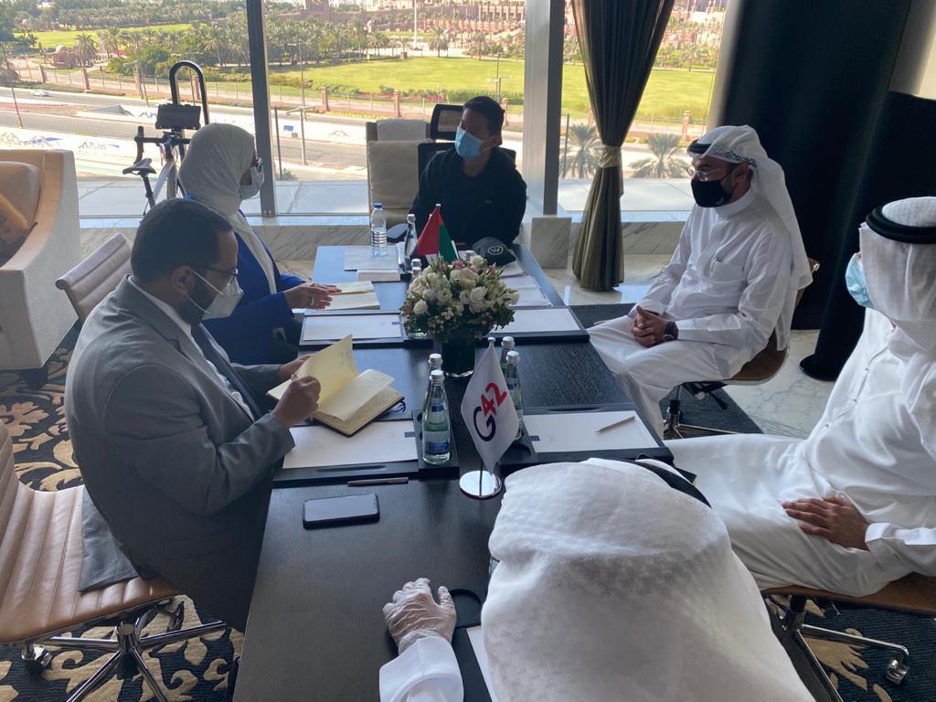صور | وزيرة الصحة تبحث مع شركة G42 الإماراتية خطة توريد دفعات لقاح كورونا لمصر