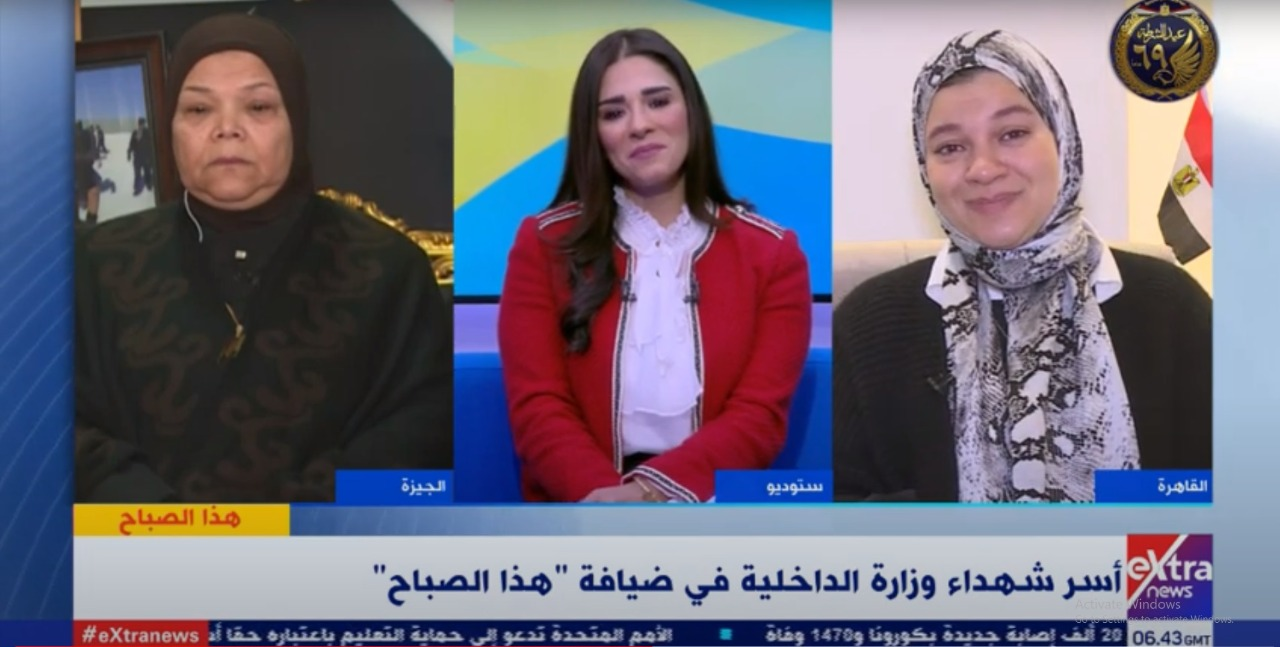 فيديو| كلمات مؤثرة وبكاء من زوجة الشهيد محمد وحيد بطل معركة الواحات