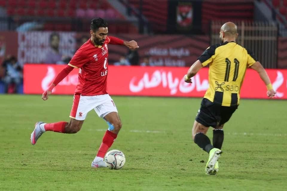 الاهلي يفوز على المقاولون العرب-3