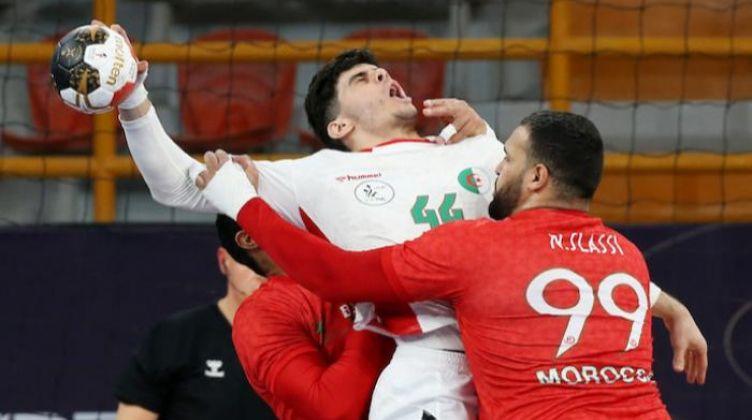 منتخب الجزائر يفوز على المغرب بمونديال اليد