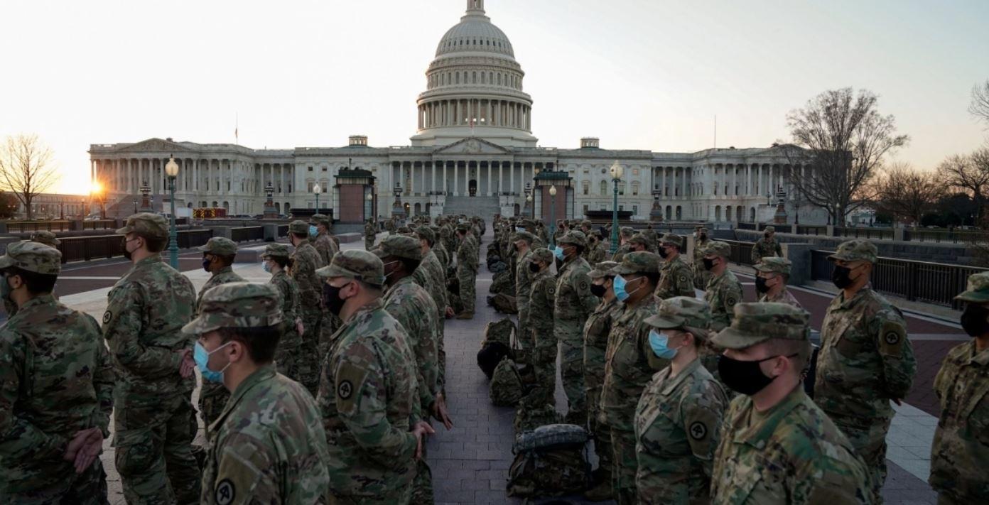 أكثر من 20 ألف عنصر من الحرس الوطني الأمريكي لتأمين تنصيب بايدن