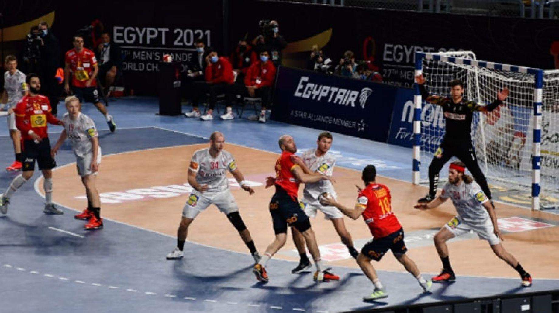 الدنمارك تفوز على إسبانيا وتواجه السويد في نهائي مونديال اليد «مصر 2021»