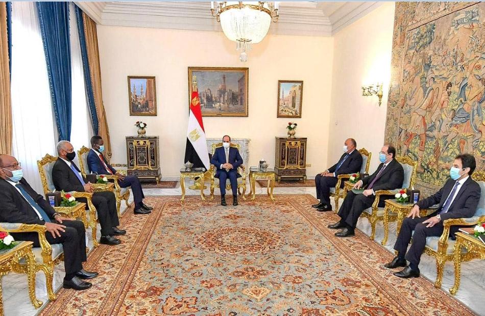 السيسي: موقف مصر تجاه السودان ينبع من الترابط التاريخي بين شعبي وادي النيل