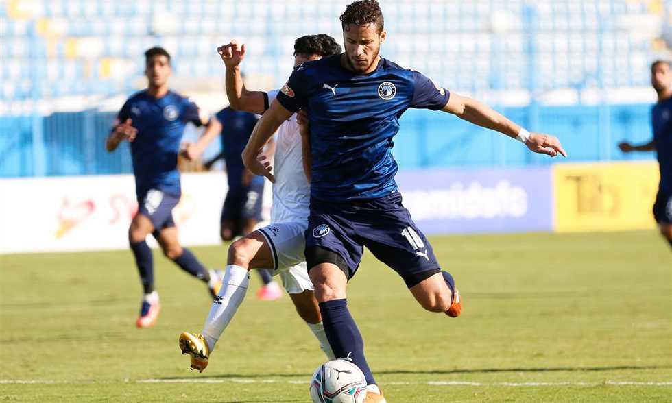 بيراميدز يفوز على المقاولون العرب بثلاثية في الدوري
