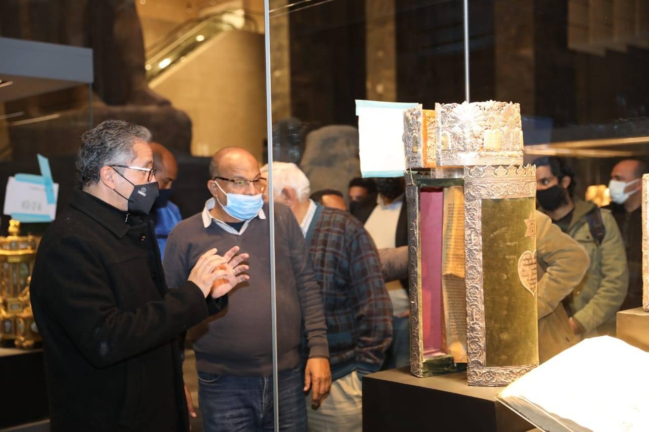 تفقد متحف عواصم مصر-3