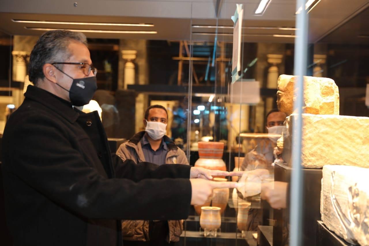 تفقد متحف عواصم مصر-4