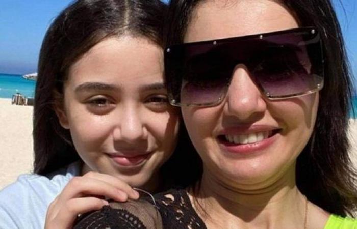 """دينا فؤاد تحتفل بعيد ميلاد ابنتها زينة :""""أغلى حاجة فى حياتى"""""""