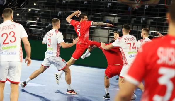روسيا تتعادل مع بيلاروسيا 32-32 فى مونديال كرة اليد
