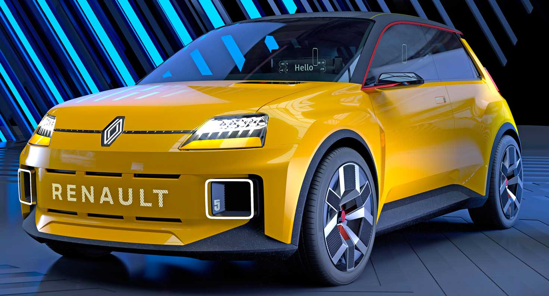 صور| رينو 5 تعود من جديد كسيارة كهربائية بالكامل بتصميم عصري