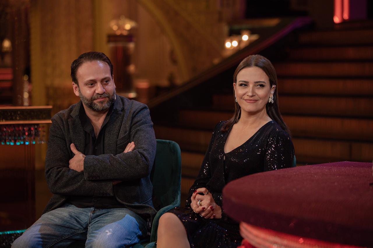 ريهام عبد الغفور وزوجها