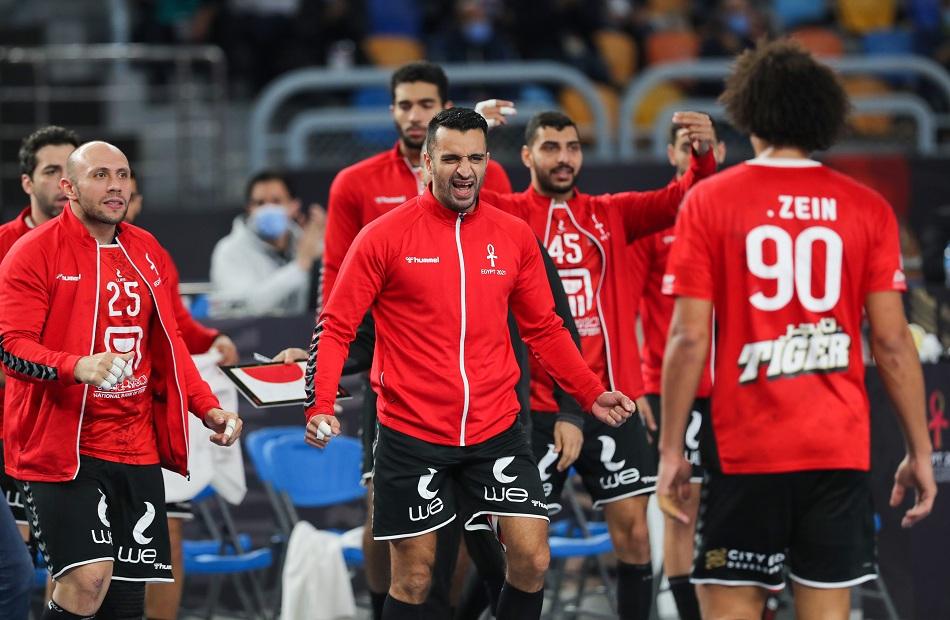مصر تتعادل مع سلوفينيا وتتأهل لدور الـ 8 بمونديال اليد