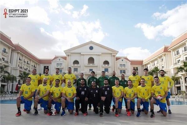 صور| منتخب البرازيل لليد يشيد بالإقامة في العاصمة الإدارية