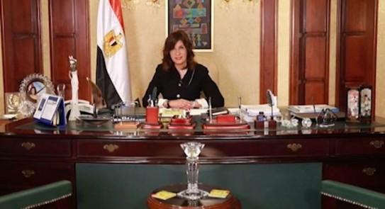 السفيرة نبيلة مكرم تشيد بشجاعة مصري أنقذ مبنى سكنيا ضخما في إيطاليا من حريق كبير