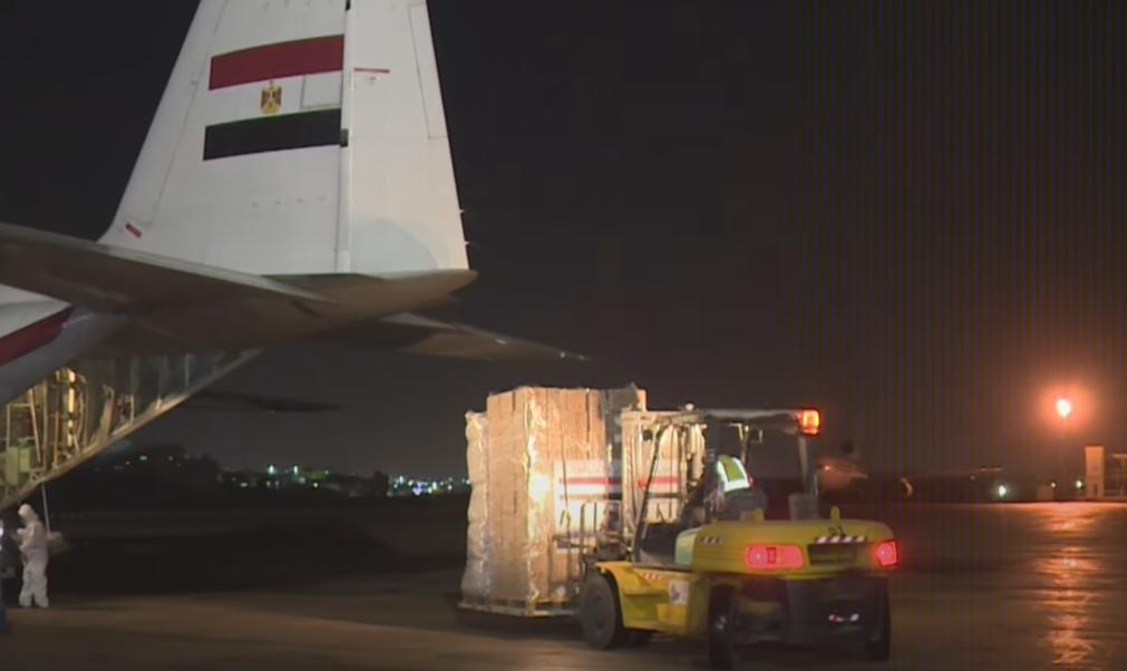 فيديو | الرئيس السيسي يوجه بإرسال طائرة مساعدات طبية للمملكة الأردنية