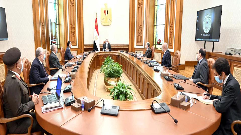الرئيس السيسي يتابع المخطط التنفيذي لتطوير 1500 قرية وتوابعها