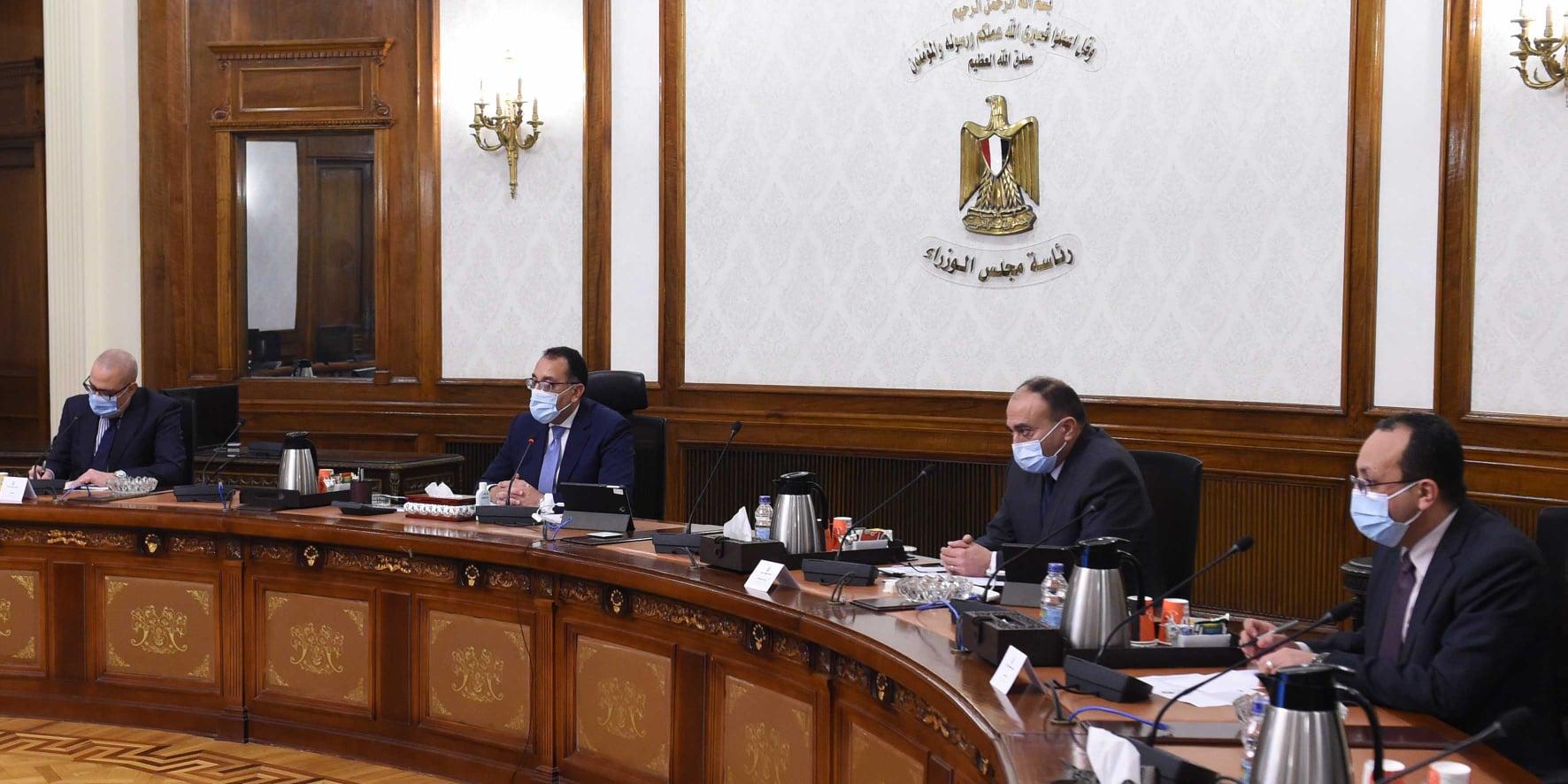 """صور   رئيس الوزراء يُتابع توفير التمويل المطلوب لتنفيذ مبادرة الرئيس """" سكن كل المصريين"""""""