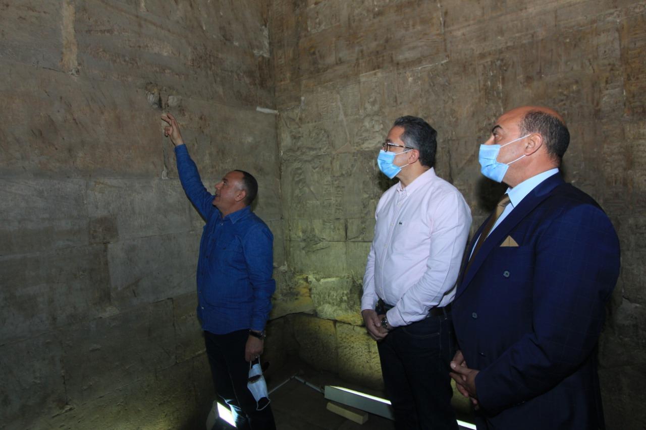 صور | افتتاح معبد إيزيس بأسوان بعد الإنتهاء من ترميمه وتطوير خدماته السياحية