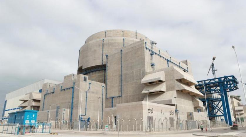 دخول أول وحدة من مفاعل نووى صينى من الجيل الثالث خدمة التشغيل التجارى