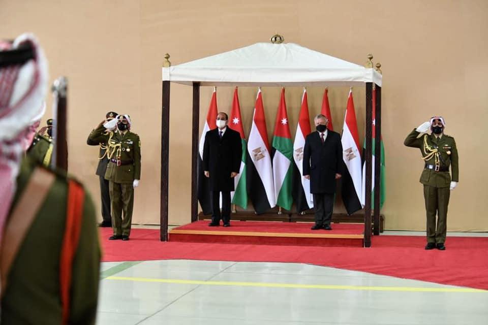 زيارة الرئيس السيسي للأردن وتأكيد مدبولي اجتياز الحكومة اختبار كورونا يتصدران عناوين الصحف