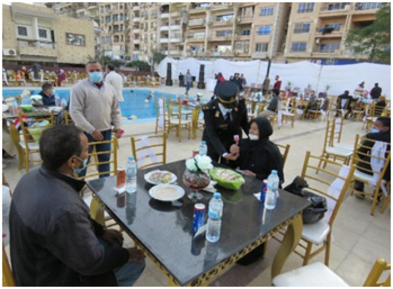 احتفالية لأسر شهداء الشرطة بالمنوفية والمنيا وأسيوط بمناسبة عيد الشرطة الــ69