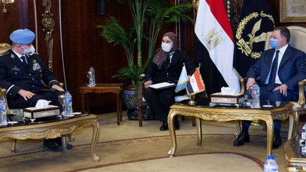 وزير الداخلية يستقبل المستشار الشرطى بإدارة عمليات حفظ السلام بالأمم المتحدة