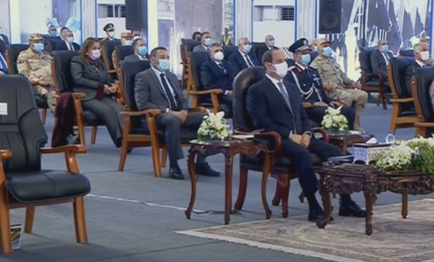 الرئيس السيسي : لدينا اكتفاء ذاتي من الكهرباء والغاز ونصدر للخارج