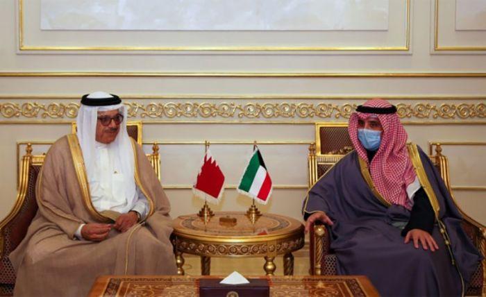البحرين والكويت تبحثان سبل تعزيز العلاقات بينهما