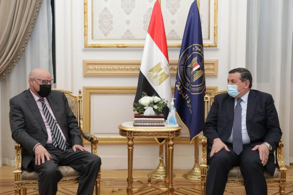 أسامة هيكل يستقبل رئيس قطاع الإعلام والاتصال بجامعة الدول العربية